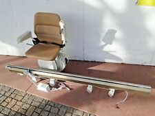Stannah 410 Electric Stairway Step Chair Lift Elevator 350lb 8FT Left Side Up