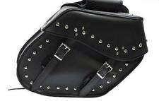 PVC Motorcycle Saddlebags FOR HARLEY SPORTSTER 1200 HD 883 BIKES-Easy Zip On/Off