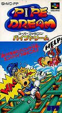 Pipe Dream Nintendo SNES Japan Version