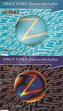 GRACE JONES : SLAVE TO THE RHYTHM CD 1+2 CD SINGLE UK & EUROPE 1994 ZTT