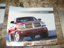 2006 Dodge Dakota SL SLT Laramie Dealer Sales Brochure manual book