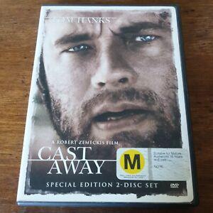 Cast Away Tom Hanks DVD R4 Like New! FREE POST