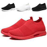 Women's Sneakers Breathable Slip on Sport Tennis Running Sock Shoes Trainers Gym