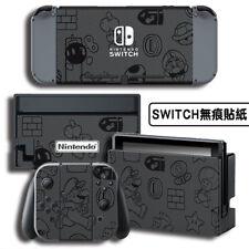 Console Joy-Con Skin Vinyl Decals Sticker Super Mario Fit For Nintendo Switch #2