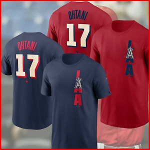 Shohei Ohtani Los Angeles Angels 2021 Baseball All-Star Game Name Number T-Shirt