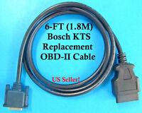 6FT 1.8M OBDII OBD2 Multiplex Cable for Bosch KTS 530 KTS 540 KTS 570 KTS 670