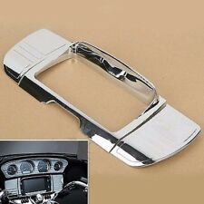 Tri Line Stereo Trim Cover for Harley Touring Electra Street Glide Ultra 2014-up