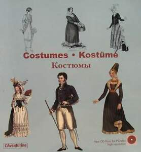 LIVRE/BOOK + CD-ROM : COSTUMES - bibliothèque de l'ornement library of ornament