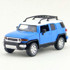 1:32 Toyota FJ Cruiser SUV Model Car Diecast Toy Vehicle Kids Sound & Light Blue