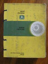 John Deere 6620 Combine Parts Catalog
