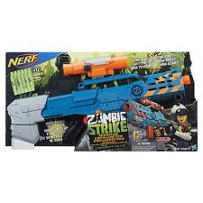 Brand New NERF Zombie Strike LONGSHOT CS-12 Dart Blaster