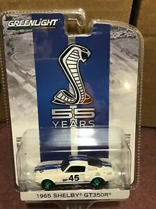 Greenlight Anniversary 1965 Ford Shelby GT350R  GREEN MACHINE