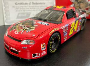 Revel NASCAR diecast 1:18 1997 Jeff Gordon #24 Car - Jurrasic Park the Ride, COA