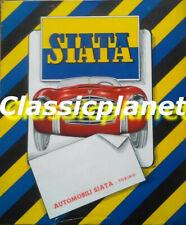 Siata Daina sport & Daina 1400 Gran Sport depliant originale