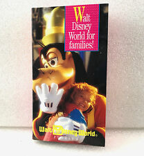 Walt Disney World For Families Florida Vacation VHS Movie