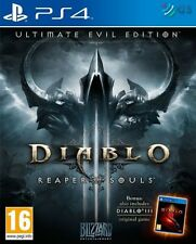 Diablo Iii 3 Segador de almas Ultimate Evil Edition Ps4 * Nuevo Sellado Pal *