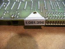 Studer a80 a 80 1.081.396 electronics card