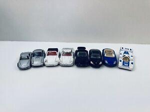 1/43 PORSCHE COLLECTION DIE-CAST CAR BUNDLE x8 cars. (956, 959, 911, 996,cayman)