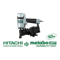 Metabo-HPT NV45AB2M 7/8-Inch to 1-3/4-Inch Roofing Nailer  NEW w/Full Warranty