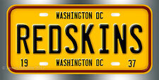 Washington Redskins Football NFL  License Plate Vanity Auto Tag