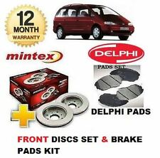 FOR FORD GALAXY ALL MODELS 1995-2000 FRONT BRAKE DISCS SET & DISC PADS KIT