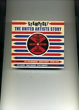 STAMPEDE! THE UNITED ARTISTS STORY - SHIRLEY BASSEY GEORGE JONES - 3 CDS - NEW!!