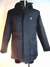 TIMBERLAND Black Waterproof PARKA Jacket Padded with Hood Size L BNWT