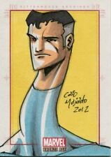 Marvel Bronze Age Sketch Card By Caio Majado Mr Fantastic