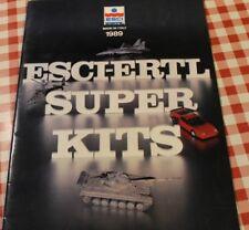 ESCI  plastic hobby kits Italy catalog catalogue 1989