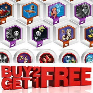 DISNEY INFINITY POWER UP DISCS CAPSULES 1.0 2.0 3.0 - MAKE YOUR SELECTION!!
