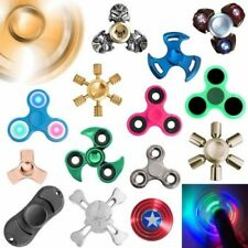 Hand Finger Spinner Fidget Adhs anti Stress Concentration Turbo LED Toy