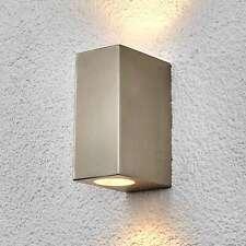 Außenwandleuchte Haven Edelstahl Licht Oben Unten Außenwandlampe Lampenwelt