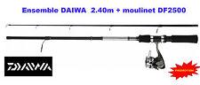 Canne + moulinet 2.40m Daiwa < Truite - Perche - leurre > Promo