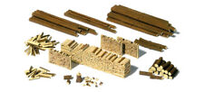 HO Scale Accessories - Trunks, Logs and Wood piles