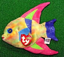NEW 2000 Ty Beanie Baby Aruba The Fish - MWMT Retired Plush Toy - FREE Shipping
