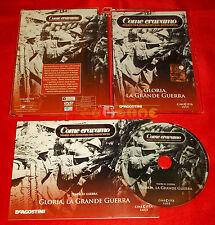 Come Eravamo GLORIA, LA GRANDE GUERRA - De Agostini Dvd Jewel Box - USATO - E2