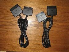 2x Playstation 2 Controller Gamepad Verlängerung/ Verlängerunskabel PS2