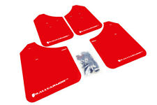 Rally Armor UR Mud Flaps Red w/ White Lettering for 02-07 WRX & STi MF1-UR-RD/WH
