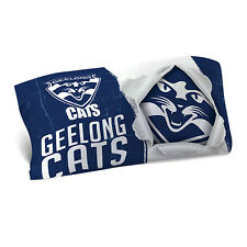 Geelong Cats AFL Pillow Case Pillowcase Birthday Fathers Gift *NEW 2018*