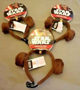 Dog STAR WARS Princess Leia Ears Headband Costume Pet Dog S/M M/L New