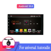 Android 10.0 Autoradio Für Universal GPS SAT NAV Doppel 2DIN Bluetooth USB 2G32G