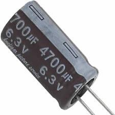4 Elko Elektrolytkondensator Kondensator 4700µF 6,3V 105°C  Ø13 H 25mm RM-5 lose