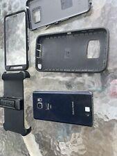 Samsung Galaxy Note 5, 32 GB Black Sapphire Verizon GSM W/ Otter Box, Untested