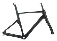 SOBATO Disc brake carbon road frame matt BSA and DI2 carbon road bike frame 46CM