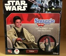 NEW Disney Star Wars Youth Yoda Snuggie (The Blanket With Sleeves)
