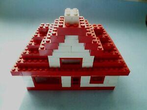 Lego Mursten Haus gebaut nach Anleitung 700.5 50er 50s von 1954