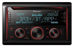 Pioneer FH-S820DAB Doppel-DIN CD/MP3-Autoradio DAB Bluetooth iPod AUX-IN USB