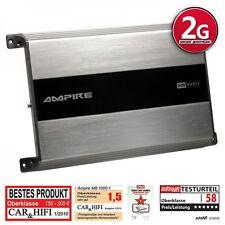 AMPIRE MB1000.1 1-Kanal Verstärker Endstufe Monoblock Class D 2. Generation