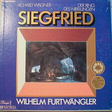 """WAGNER DER RING DES NIEBELUNGEN SIEGFRIED FURTWÄNGLER EMI- 12"""" LP  [k360]"""