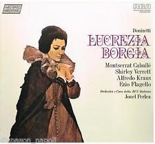 Donizetti: Lucrezia Borgia / Caballe, Verrett, Kraus, Perlea - LP Vinyl
